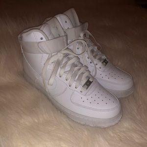 Nike Air Force 1 High Top Sneaker - Women Sz 9